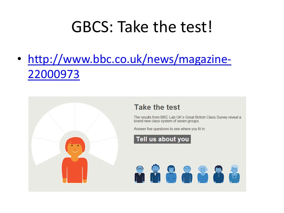 GBCS: Take the test! http://www.bbc.co.uk/news/magazine-22000973