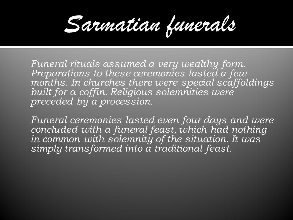 Sarmatian funerals