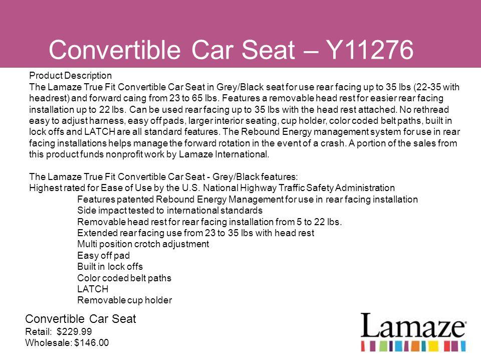 Convertible Car Seat – Y11276