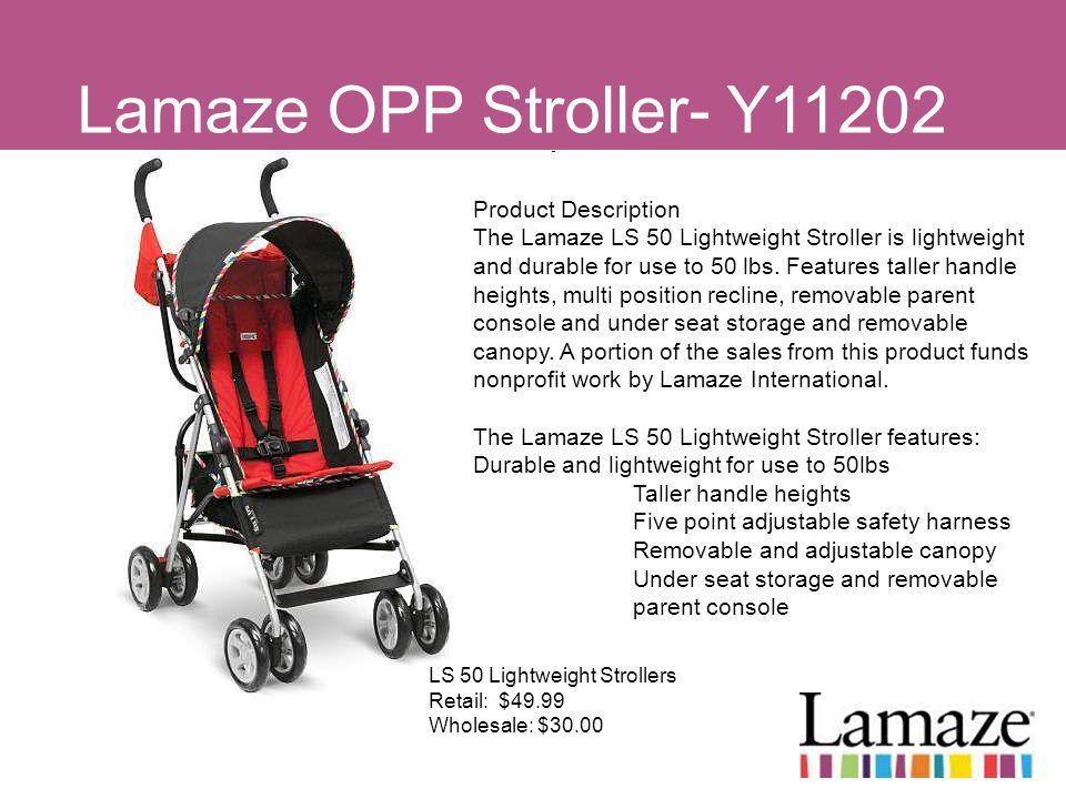Lamaze OPP Stroller- Y11202