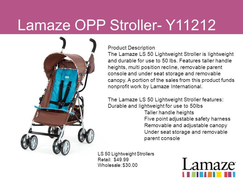 Lamaze OPP Stroller- Y11212