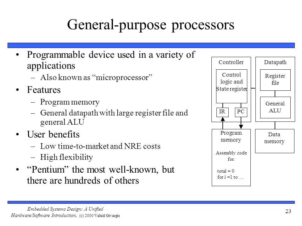General-purpose processors