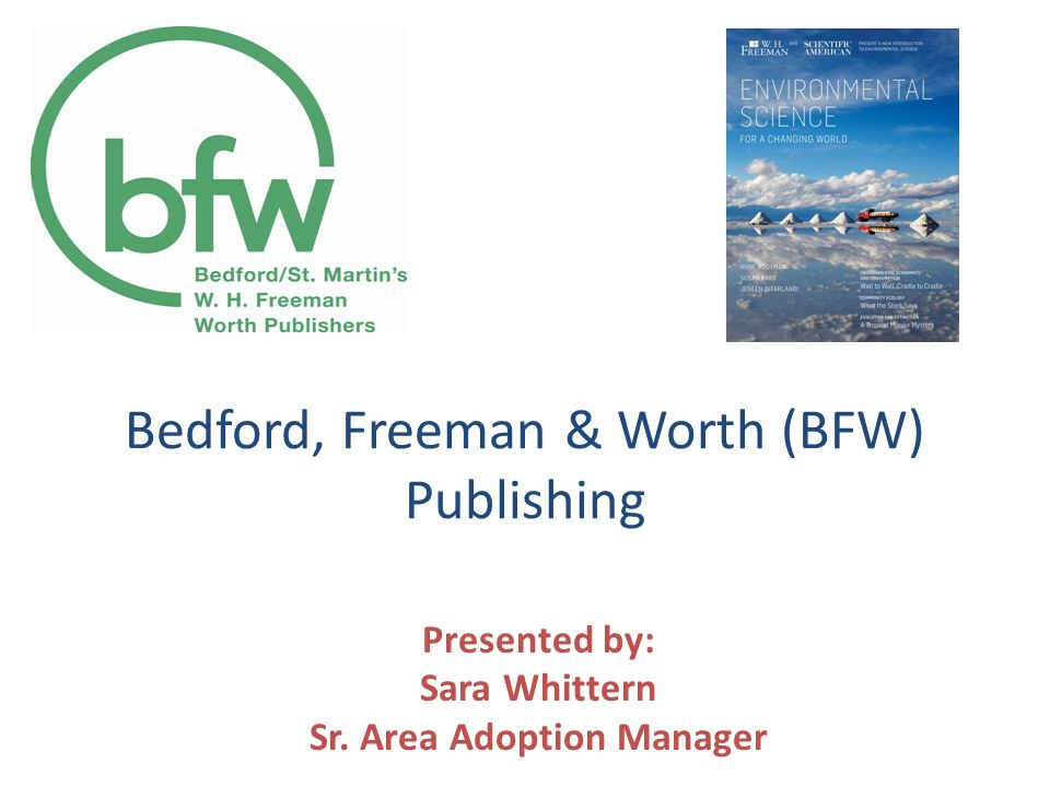 Bedford, Freeman & Worth (BFW) Publishing