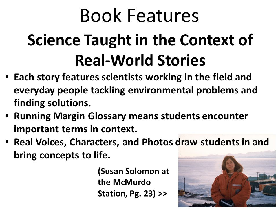 Science Taught in the Context of