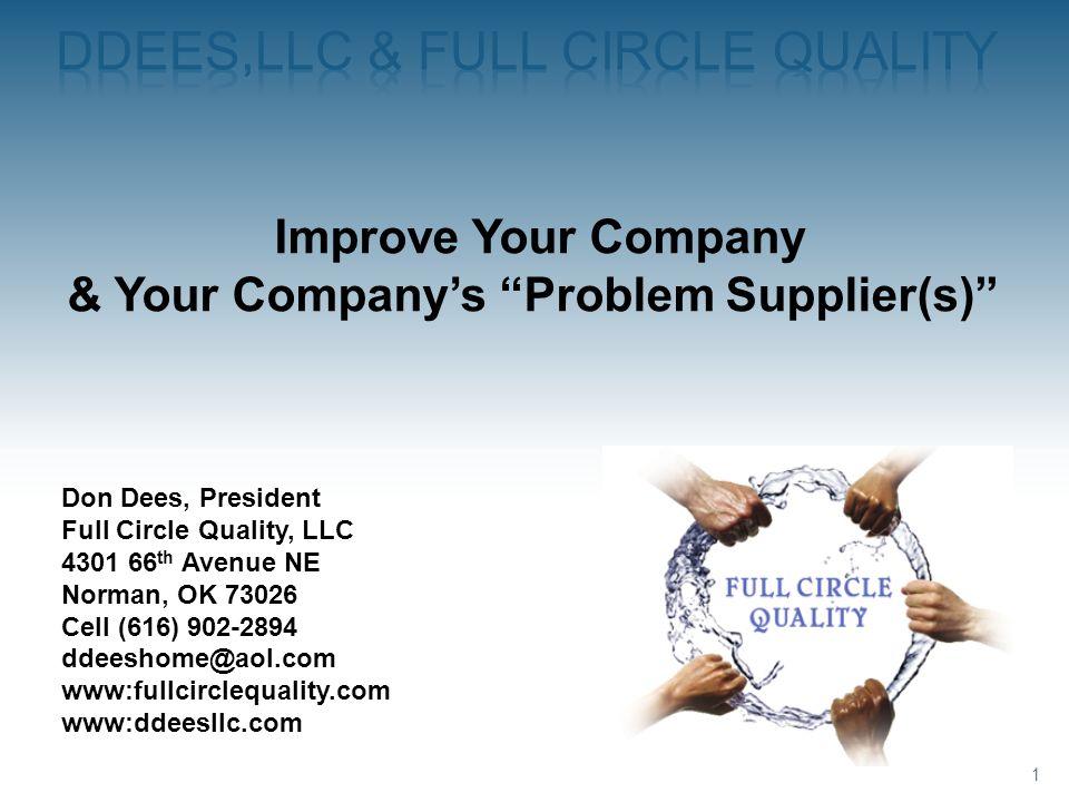 DDEES,LLC & Full circle quality