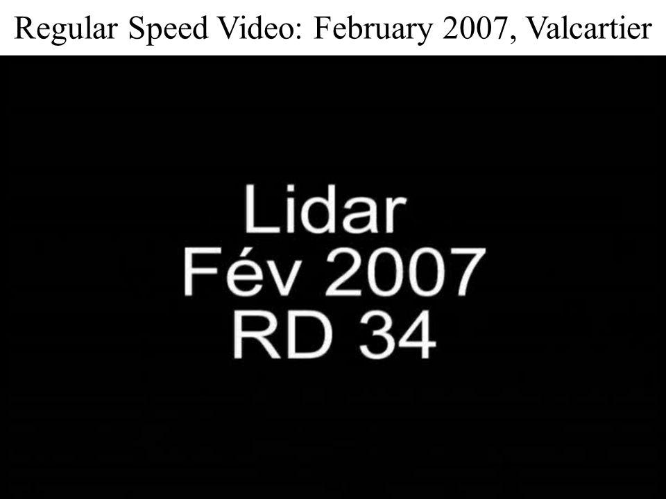Regular Speed Video: February 2007, Valcartier