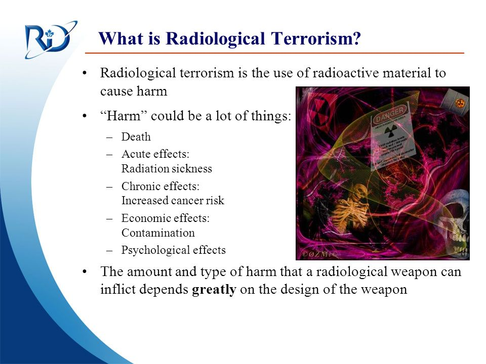 What is Radiological Terrorism
