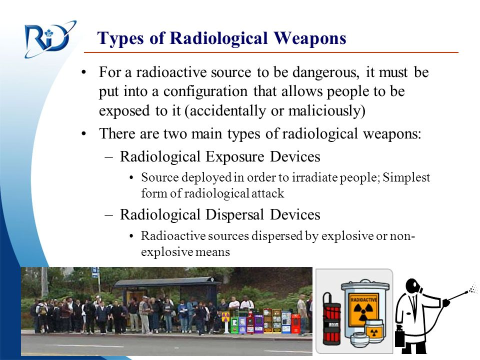 Types of Radiological Weapons