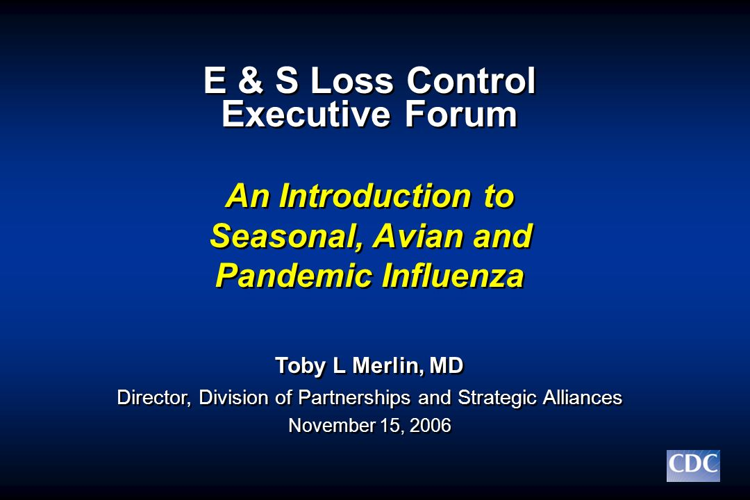 E & S Loss Control Executive Forum