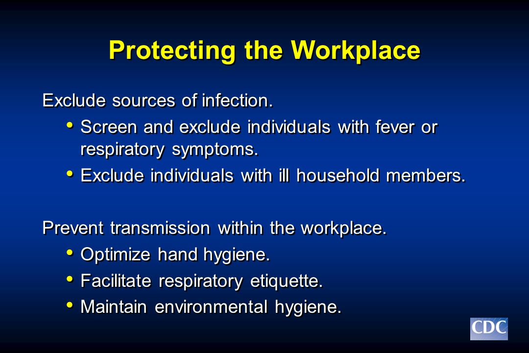 Protecting the Workplace