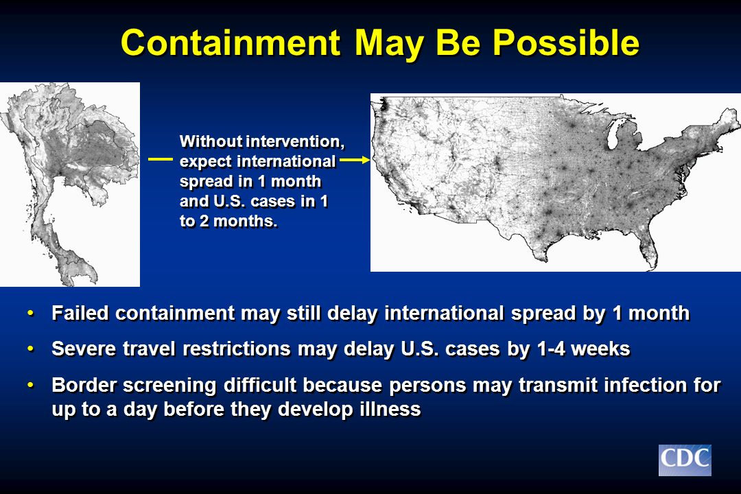 Containment May Be Possible