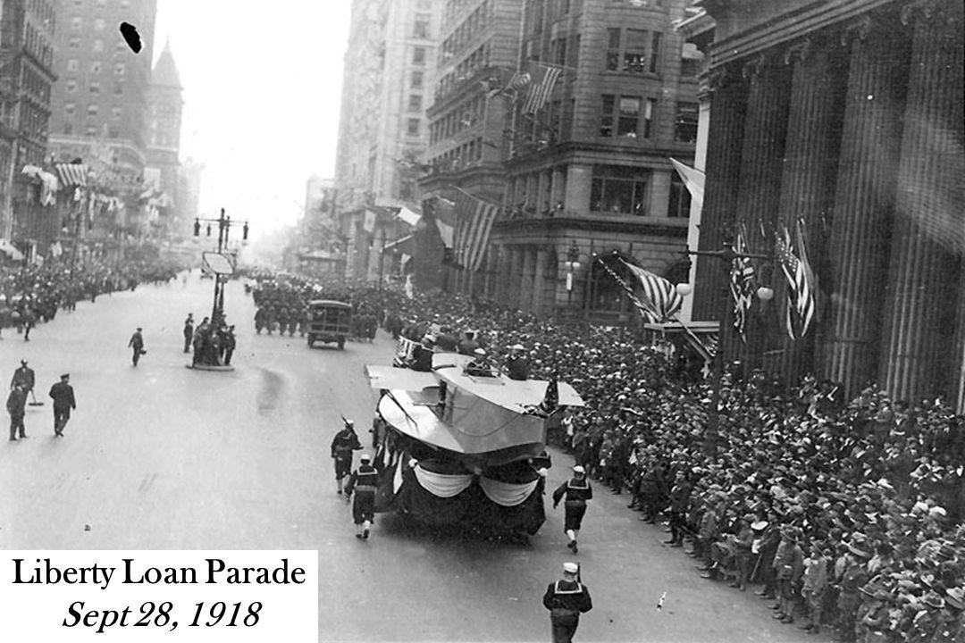Liberty Loan Parade Sept 28, 1918