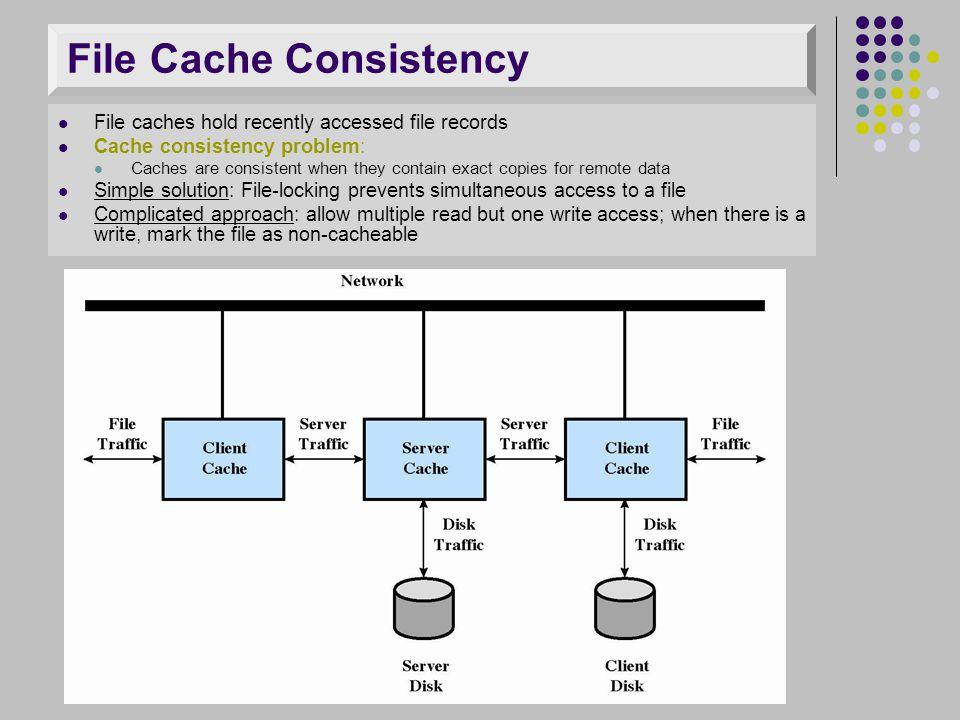 File Cache Consistency