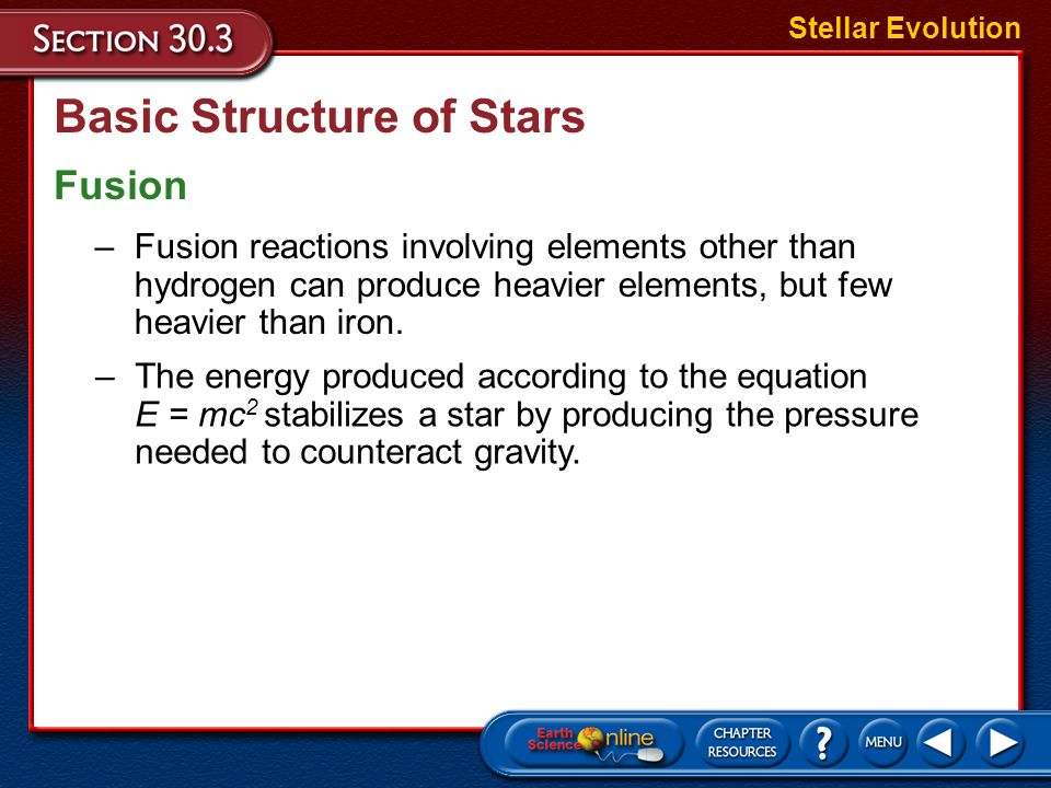 Basic Structure of Stars
