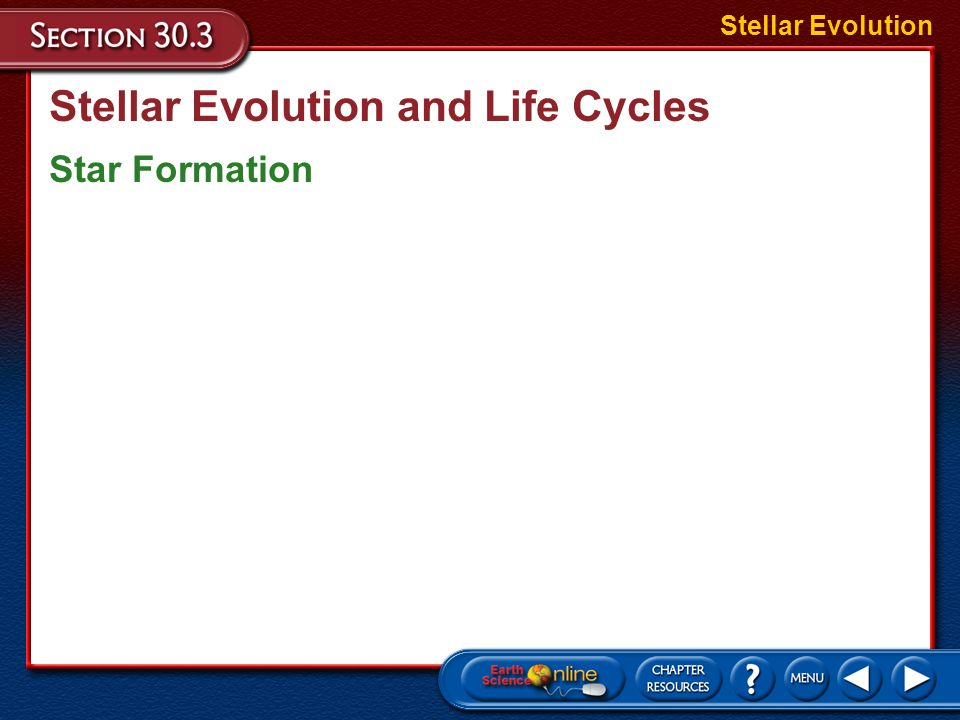 Stellar Evolution and Life Cycles