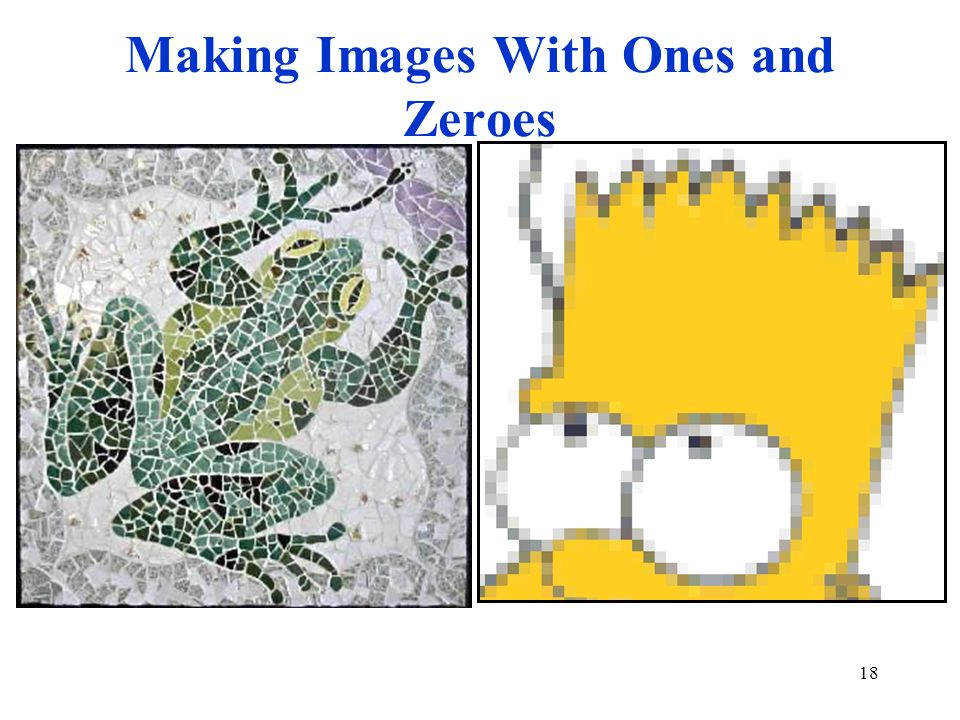 Making Images With Ones and Zeroes