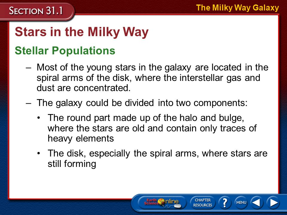 Stars in the Milky Way Stellar Populations