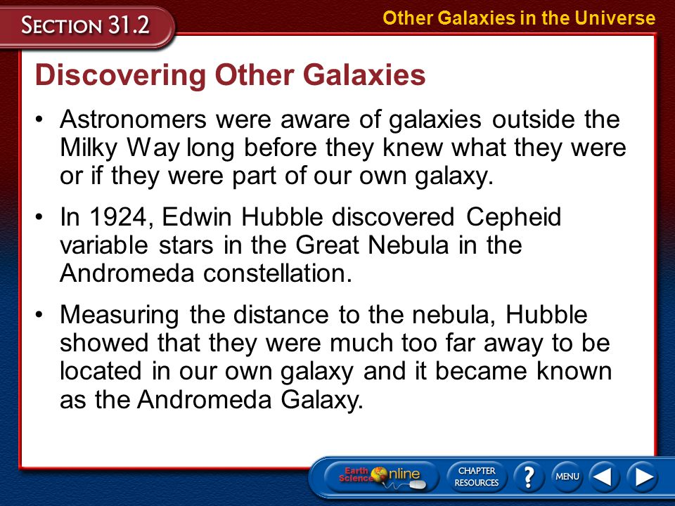 Discovering Other Galaxies