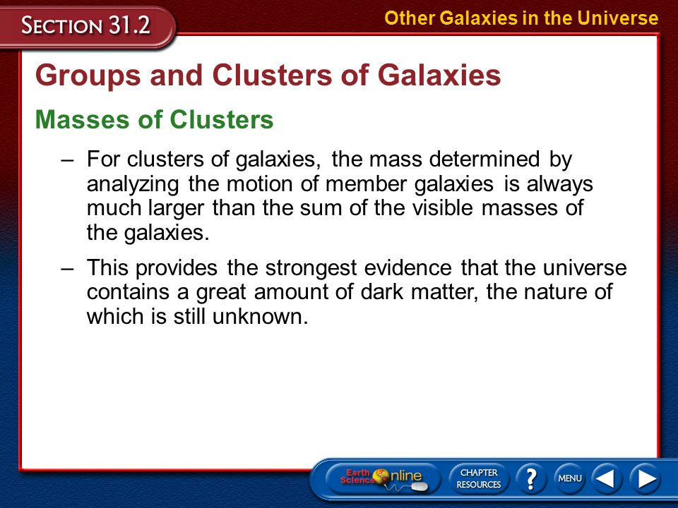Groups and Clusters of Galaxies