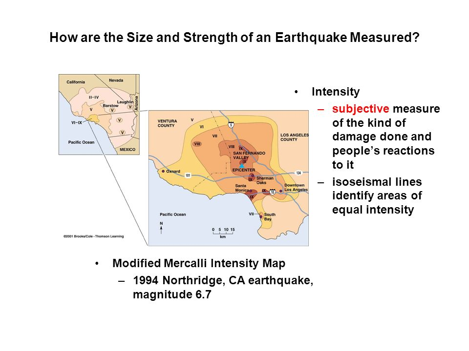 How are the Size and Strength of an Earthquake Measured