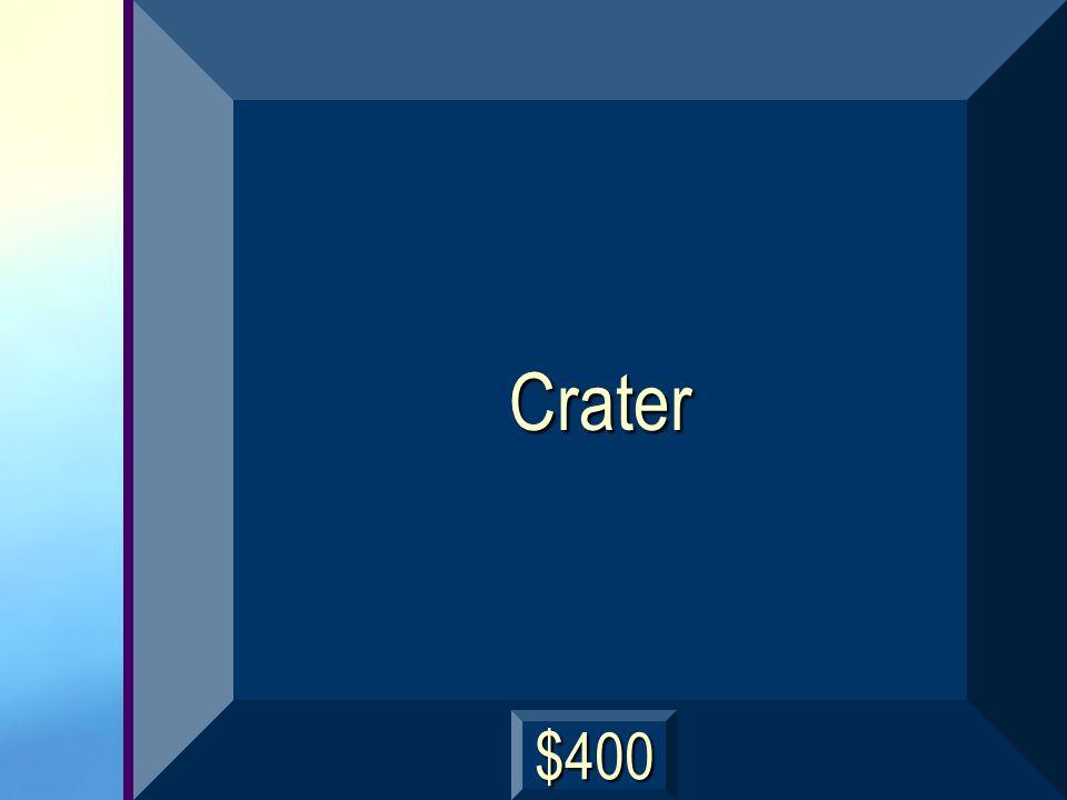 Crater $400
