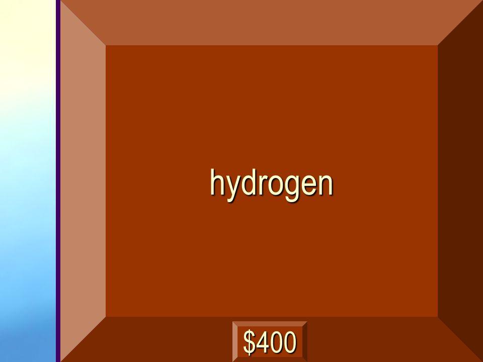 hydrogen $400