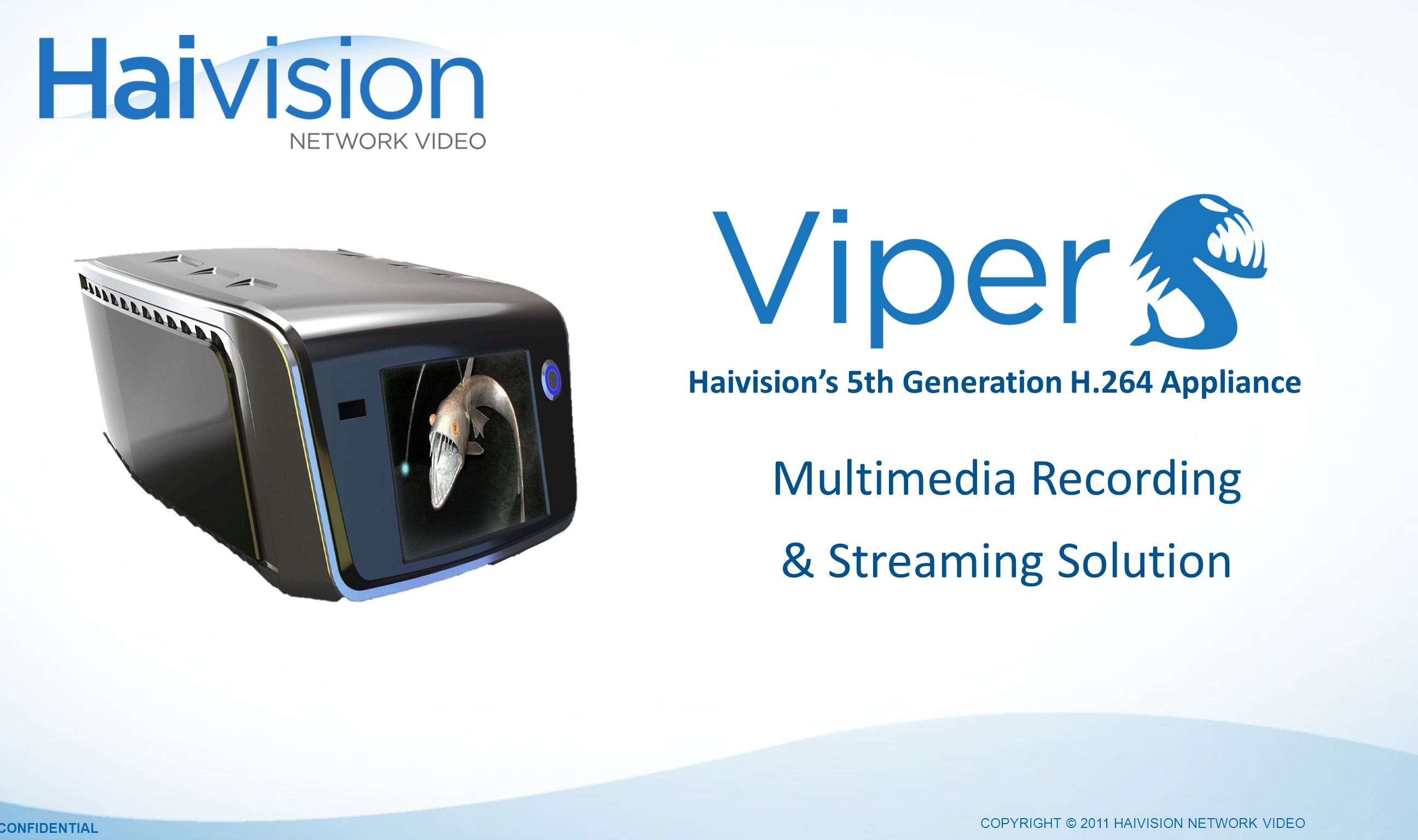 Haivision's 5th Generation H.264 Appliance