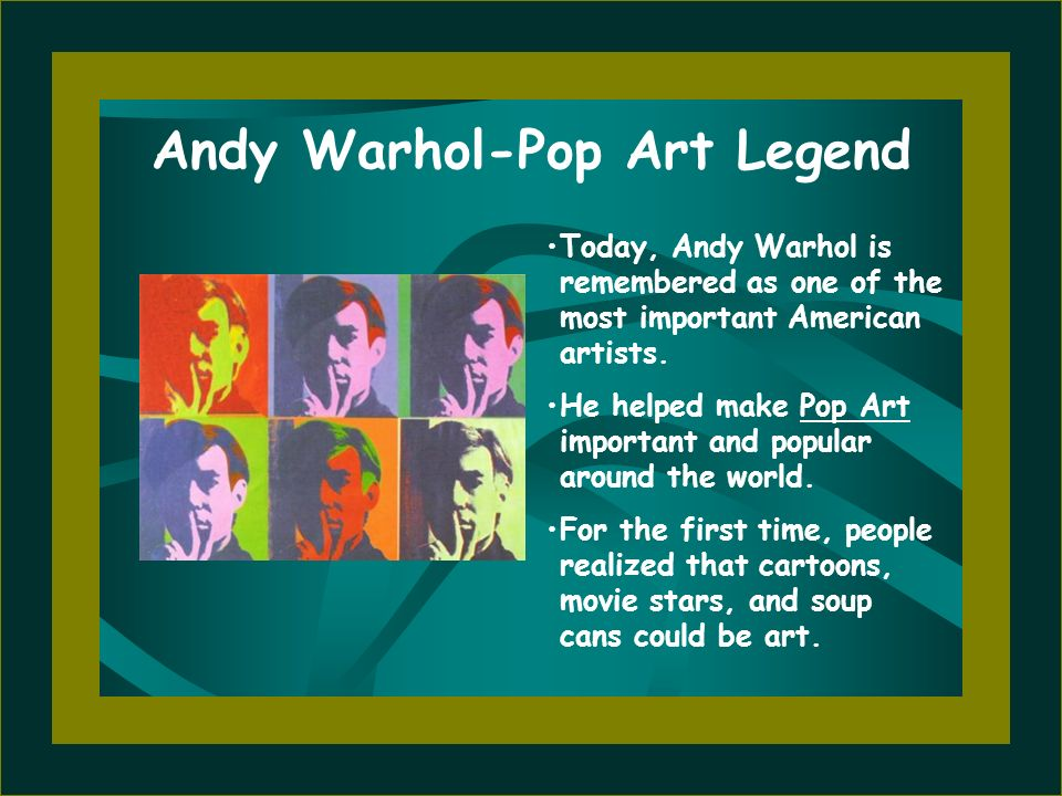 Andy Warhol-Pop Art Legend