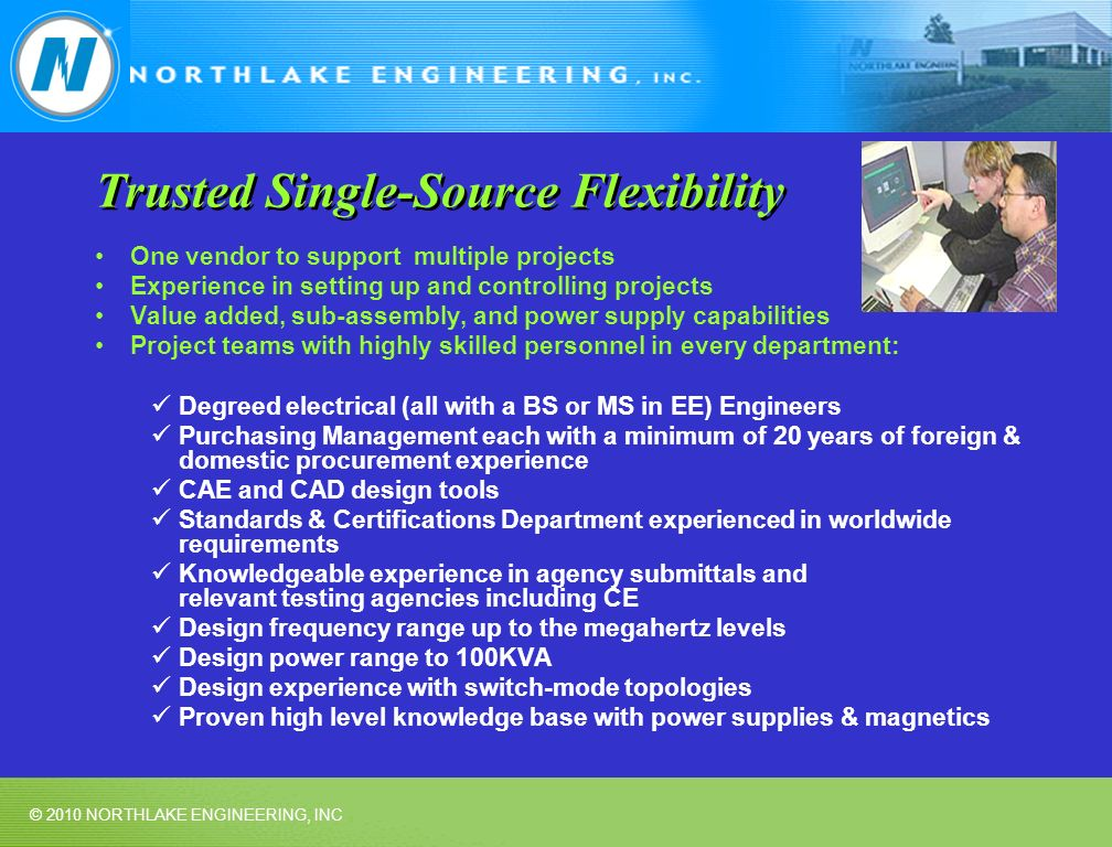 Trusted Single-Source Flexibility