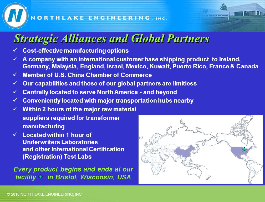 Strategic Alliances and Global Partners