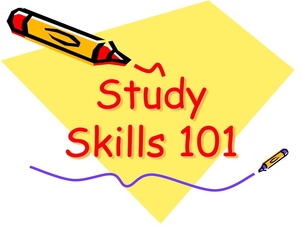 Study Skills 101