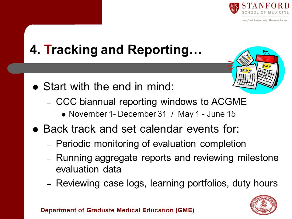 4. Tracking and Reporting…