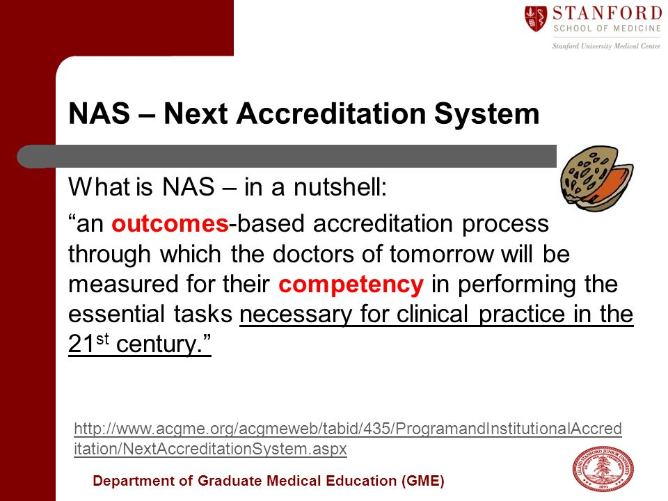 NAS – Next Accreditation System