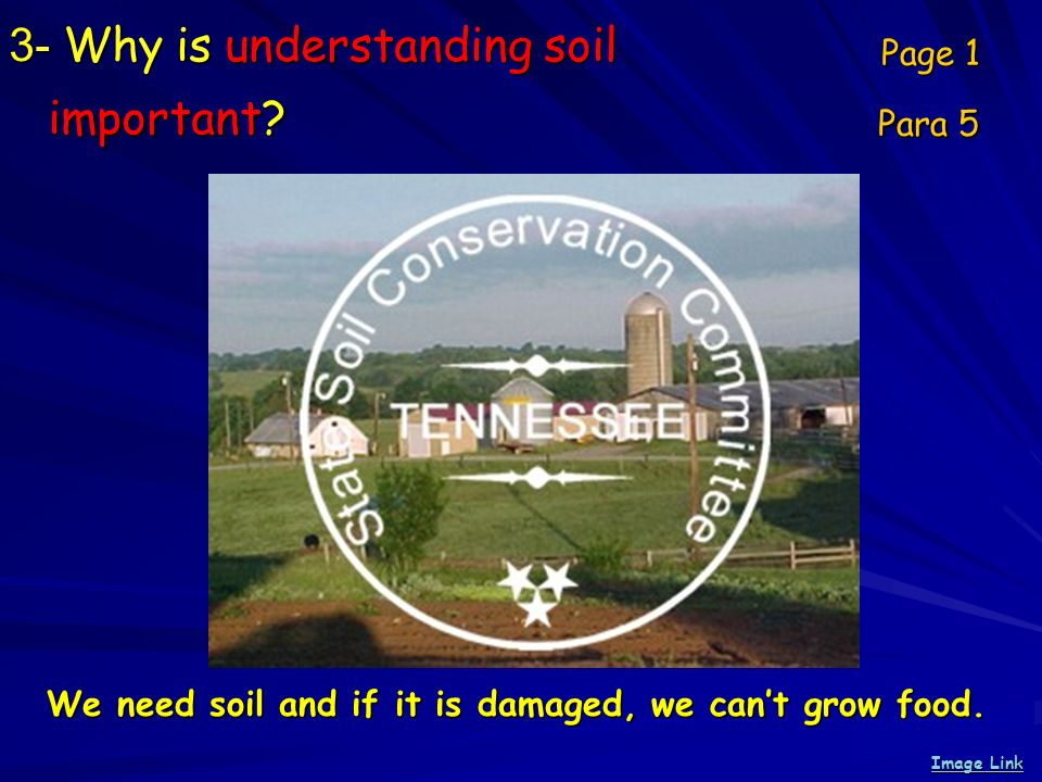 3- Why is understanding soil important