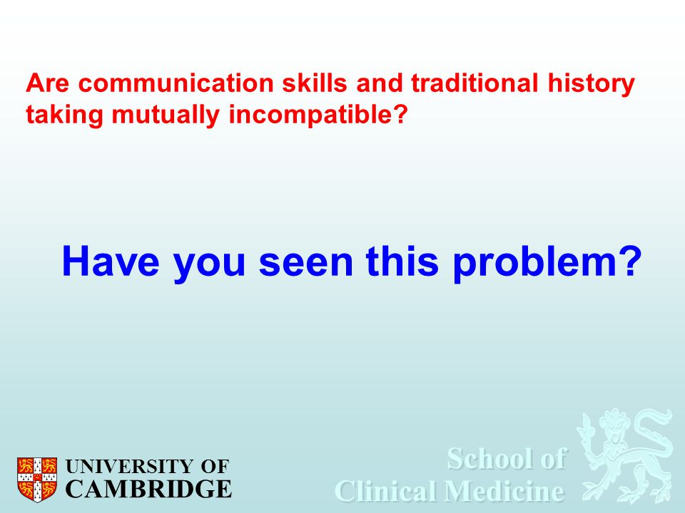 Have you seen this problem
