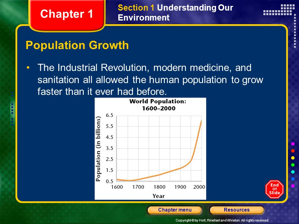 Chapter 1 Population Growth