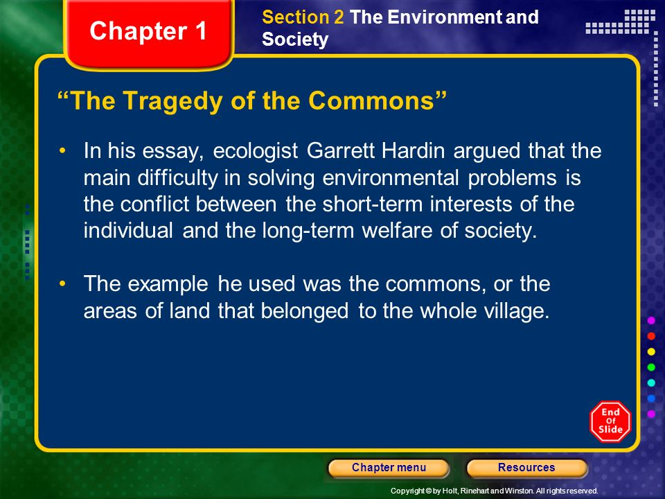 what is environmental science ppt video online  the tragedy of the commons