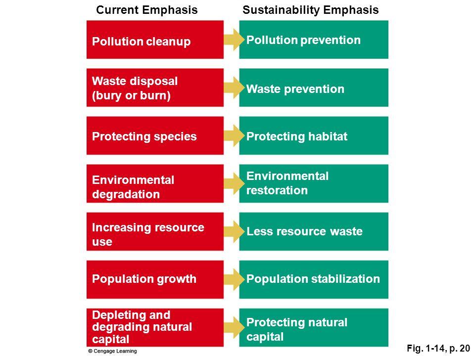 Sustainability Emphasis