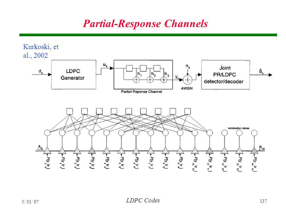 Partial-Response Channels