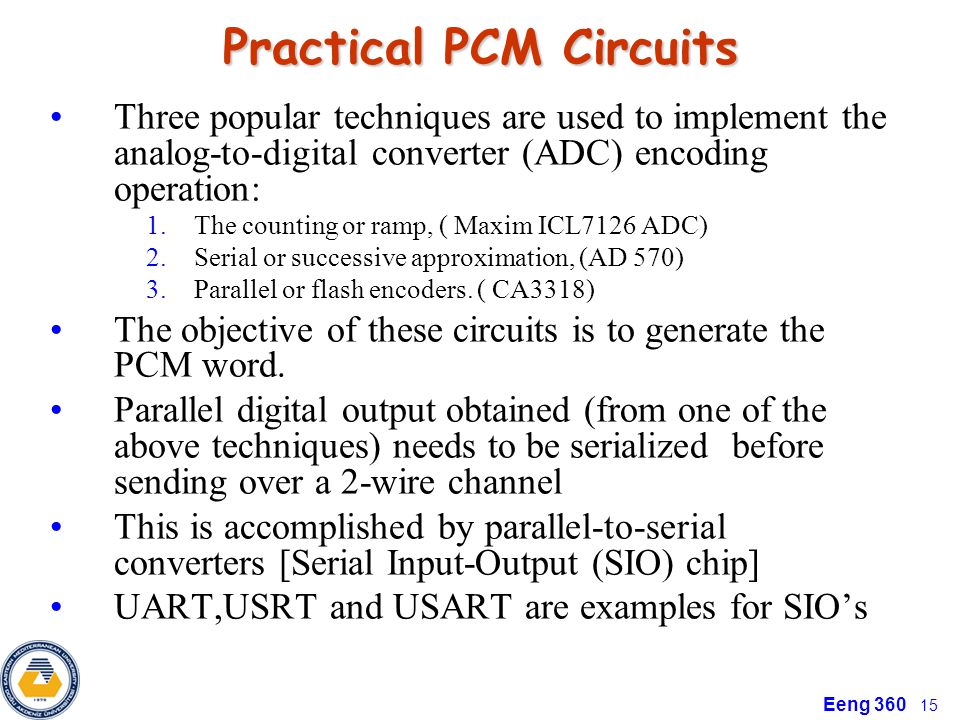 Practical PCM Circuits