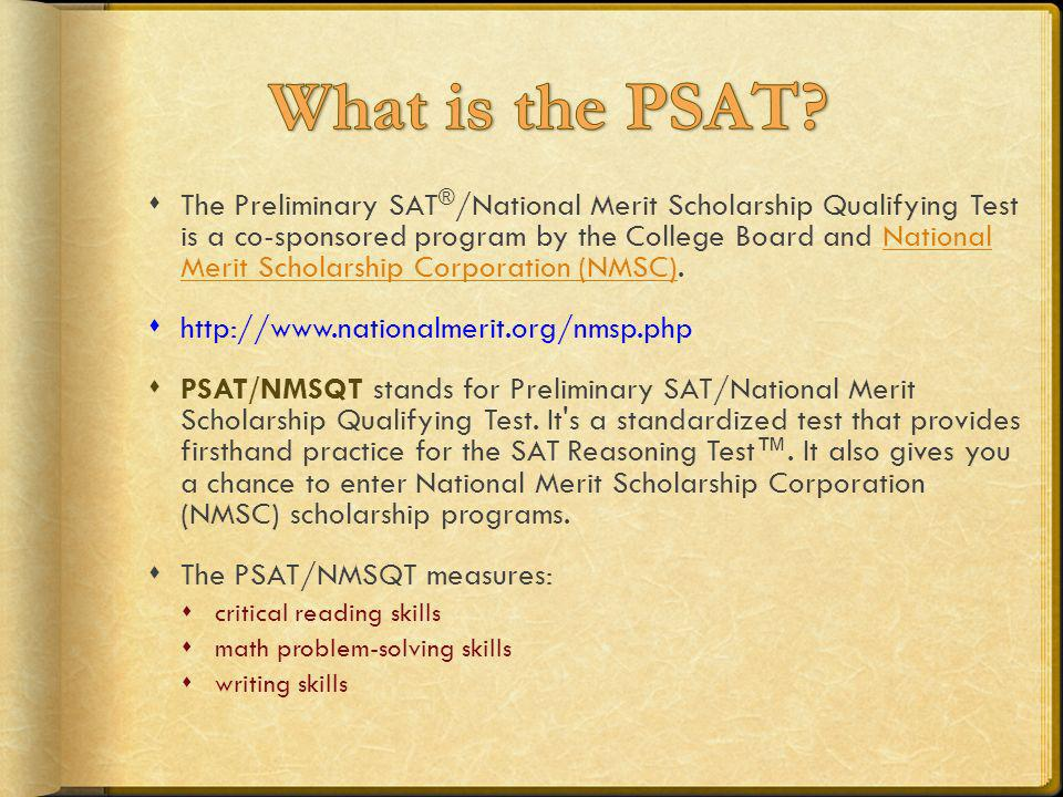 What is the PSAT