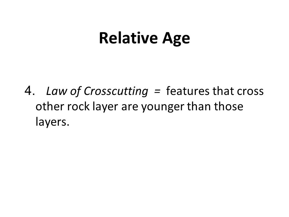 Relative Age 4.