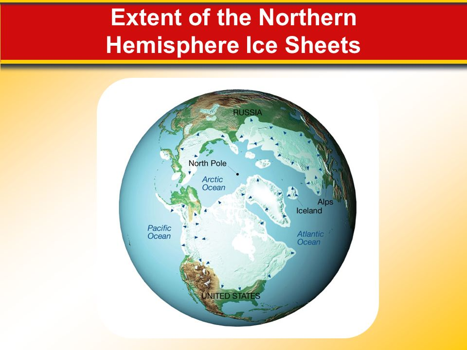 Extent of the Northern Hemisphere Ice Sheets