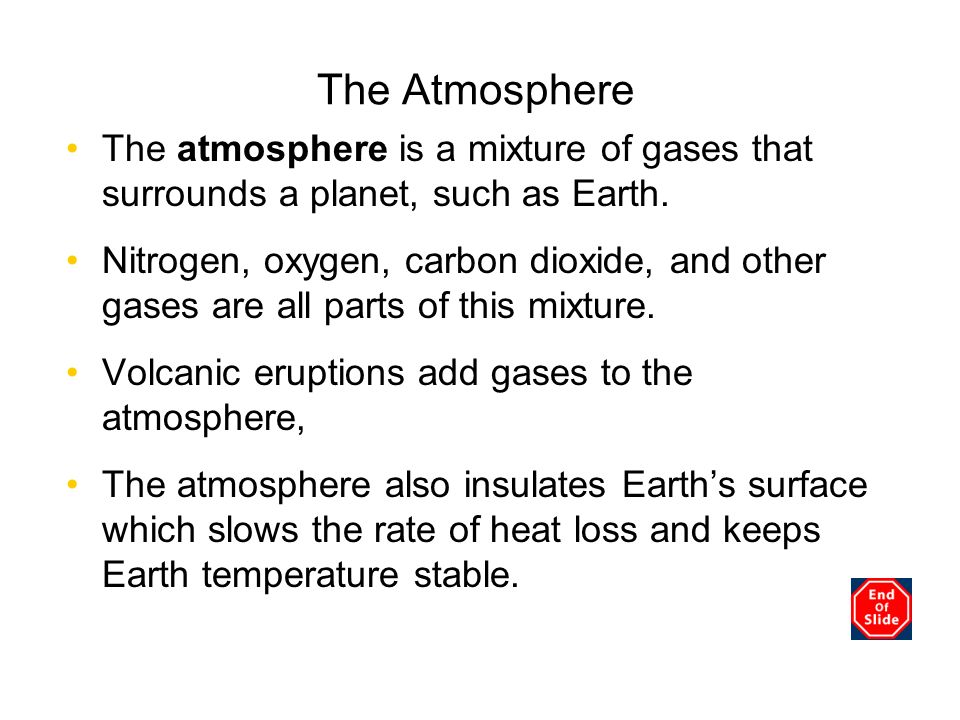 The Atmosphere Chapter 3