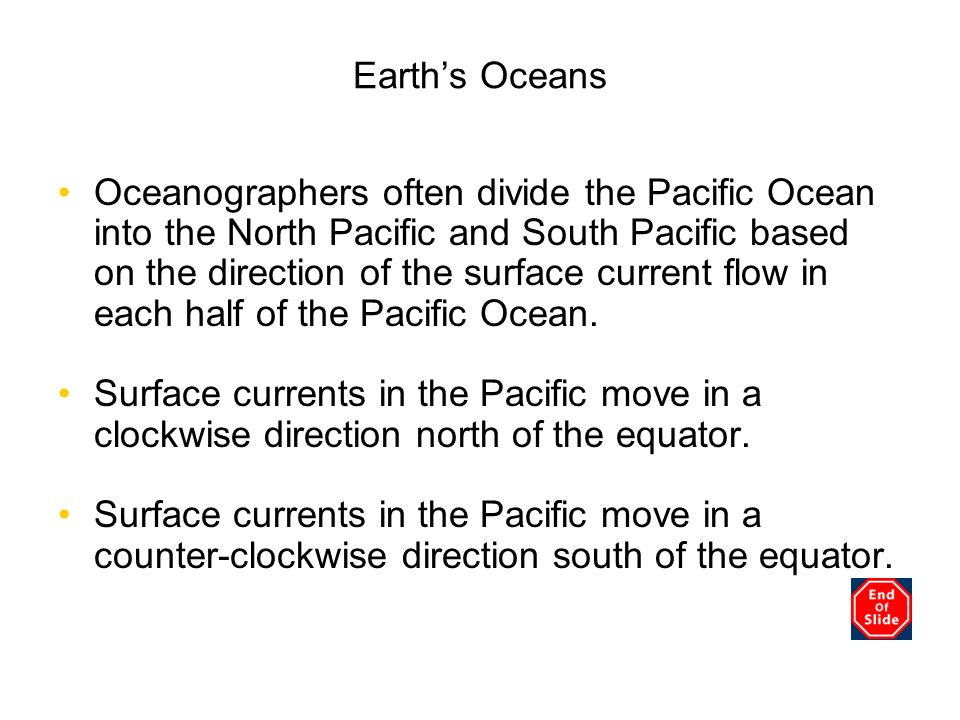 Chapter 3 Earth's Oceans.