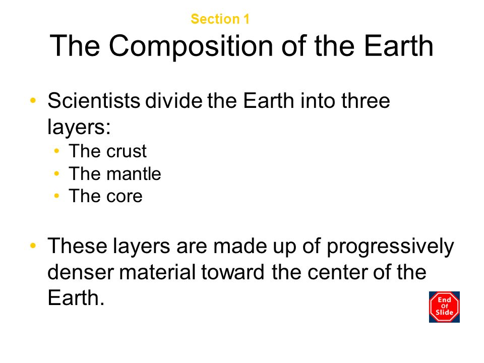 The Composition of the Earth