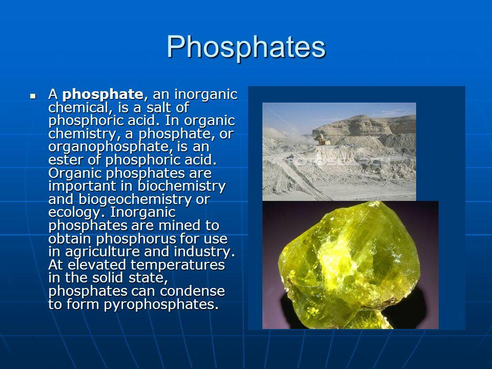 Phosphates