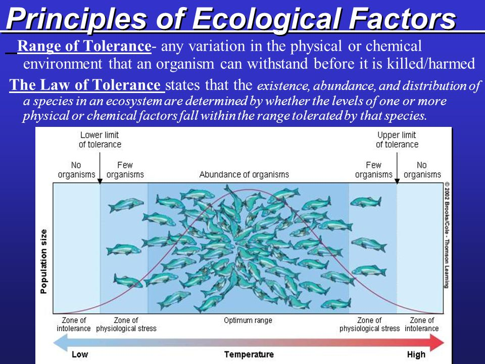 Principles of Ecological Factors