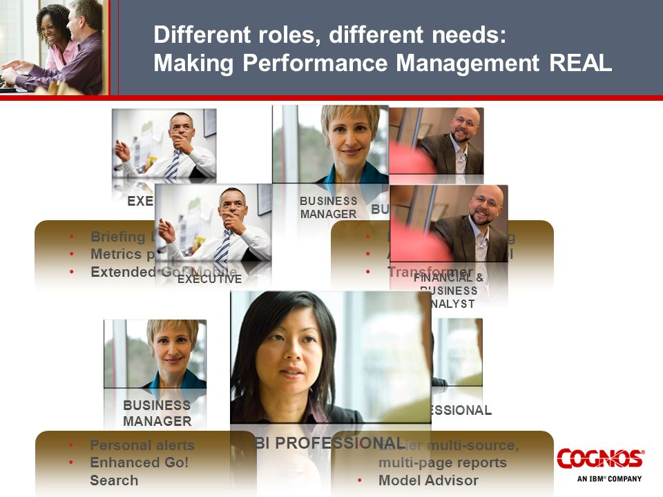 Different roles, different needs: Making Performance Management REAL
