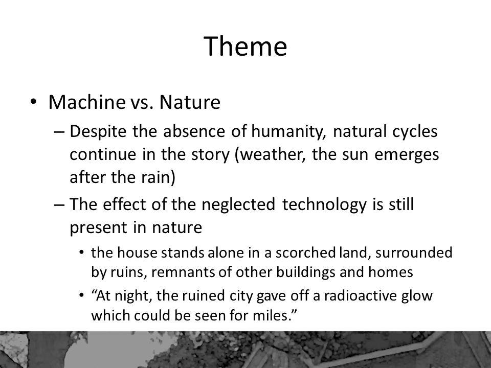 Theme Machine vs. Nature